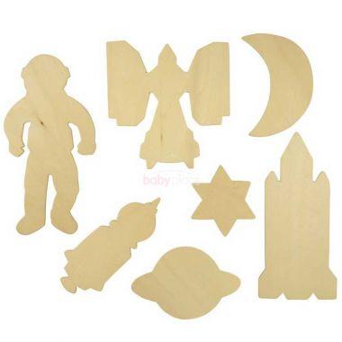 Obkreslovací obrázky vesmíru Bigjigs Toys