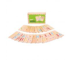 Obrovské dřevěné domino Bigjigs Toys
