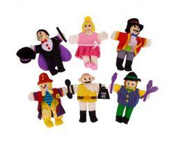 Prstoví maňásci Bigjigs Toys Cirkusoví baviči