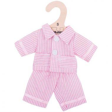 Pyžamo pro panenku 28 cm Bigjigs Toys Růžové