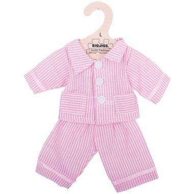 Pyžamo pro panenku 38 cm Bigjigs Toys Růžové