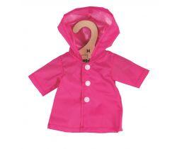 Kabátek  pro panenku 34 cm Bigjigs Toys Růžový