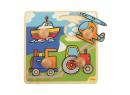 Vkládací puzzle Bigjigs Toys Doprava