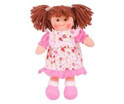 Látková panenka Bigjigs Toys Amy 28 cm