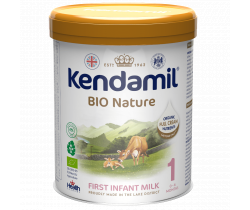 BIO batolecí mléko 800 g DHA+ Kendamil Nature 1