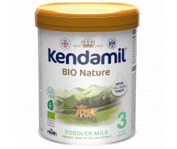 BIO batolecí mléko 800 g DHA+ Kendamil Nature 3