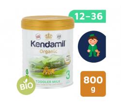 BIO plnotučné batolecí mléko 800 g DHA+ Kendamil Organic 3
