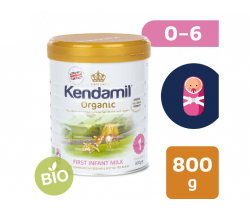 BIO plnotučné kojenecké mléko 800 g DHA+ Kendamil Organic 1