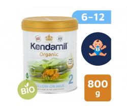 BIO plnotučné pokračovací mléko 800 g DHA+ Kendamil Organic 2