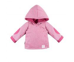 Mikina s kapucí oboustranná Eevi Unique Pink