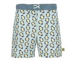 Chlapecké plavky Lässig Board Shorts Boys Penguin Mint