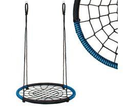 Houpací kruh (průměr: 100 cm) Springos Black/Blue