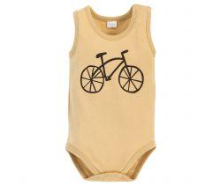 Body bez rukávů Pinokio Summertime Beige Bike