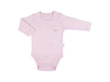 Body dlouhý rukáv Kitikate Basic Pink