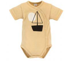 Body krátký rukáv rozepínací Pinokio Summertime Beige Ship
