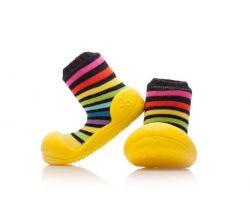 Botičky Attipas RainBow Yellow