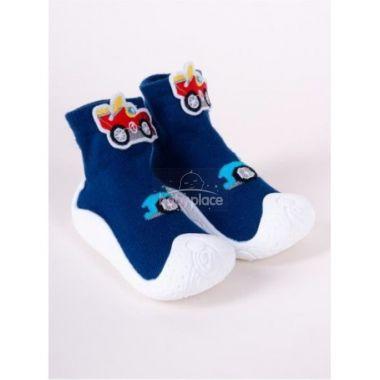 Botičky Yo Blue Car 3D