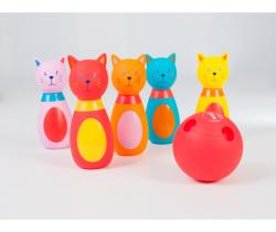 Bowling pro nejmenší Ludi Kočičky