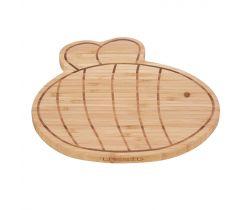 Snídaňové prkénko Lässig Breakfast Board Bamboo Wood
