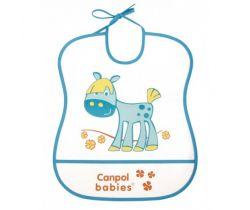 Canpol Cheerfull Animals plastový bryndák měkký