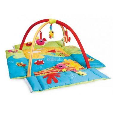 Canpol Colorful ocean multifunkční hrací deka s hrazdičkou