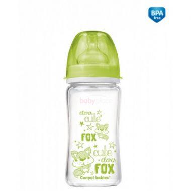 Canpol EasyStart Pure glass láhev skleněná 240 ml