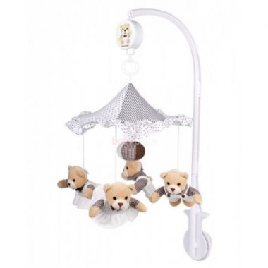 Canpol Teddy bears plyšový kolotoč