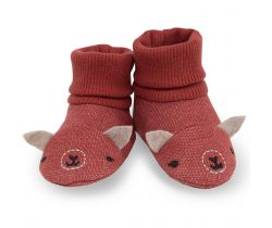 Capačky Pinokio Happy Llama Red