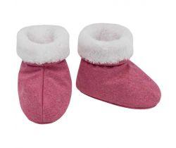 Capáčky softshell s kožíškem Esito Melír Růžová/Bílá