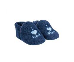 Capačky Yo I Love Mum/Dad Dark Blue