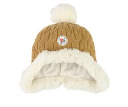Čepice Lodger Hatter Empire Fleece Dark Honey
