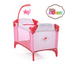 Cestovní postýlka pro panenky Hauck Toys Sleep N Play Deluxe LittleMOMMY