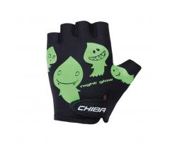 Cyklistické rukavice pro děti Chiba Cool Kids Duchové
