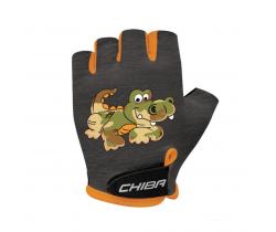 Cyklistické rukavice pro děti Chiba Cool Kids Krokodýl