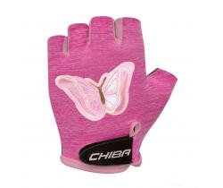 Cyklistické rukavice pro děti Chiba Cool Kids Motýl
