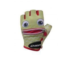 Cyklistické rukavice pro děti Chiba Cool Kids Tvář