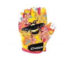 Cyklistické rukavice pro děti Chiba Cool Kids Včela