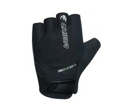 Cyklistické rukavice pro dospělé Chiba Elements BioXCell Air Černá