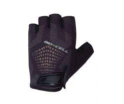 Cyklistické rukavice pro dospělé Chiba BioXCell Super Fly Černá