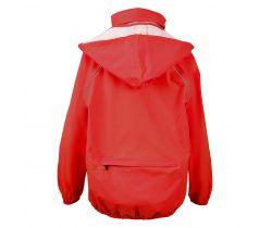 Dětská bunda do deště Chiba Červená