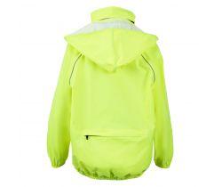 Dětská bunda do deště Chiba Neonově žlutá