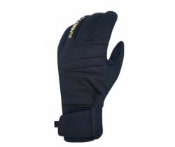 Zimní cyklistické rukavice pro dospělé Chiba Classic Černozlatá