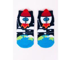 Chlapecké ponožky YO Rocket Black