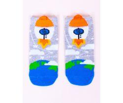 Chlapecké ponožky YO Rocket White