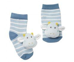 Chrastící ponožky Baby Fehn
