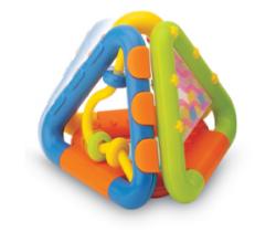 Chrastítko B-Kids Skládací trojúhelníky