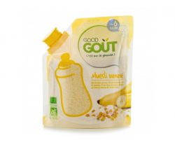 Dětská banánová instantní kaše v prášku 200 g Good Gout Bio