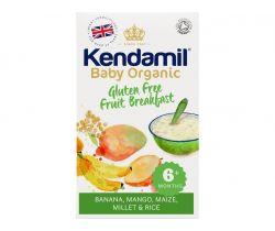 Dětská bezlepková ovocná kaše 150g Kendamil Organic Bio