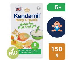 Dětská bezlepková ovocná kaše 150 g Kendamil Organic Bio