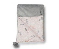 Dětská deka minky 70x100 cm Glück Deer